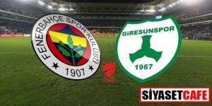 Fenerbahçe 1- 0 Giresunspor