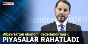 """Bakan Albayrak'tan ekonomi değerlendirmesi: """"Piyasalar rahatladı"""""""