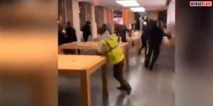 Sarı Yelekliler Apple'ı Yağmaladı-VİDEO-