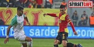 Göztepe - Bursaspor maçına damga vuran kampanya!
