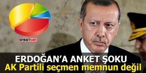 Erdoğan'a anket şoku: AK Partili seçmen memnun değil