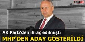 AK Parti'den ihraç edilmişti MHP'den aday gösterildi