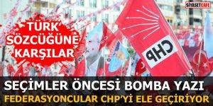 Seçimler öncesi bomba yazı Federasyoncular CHP'yi ele geçiriyor