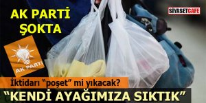 AK Parti'de büyük şaşkınlık: İktidarı poşet mi yıkacak?