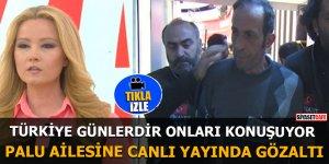 Tuncer Ustael ve Emine Palu'ya canlı yayında gözaltı