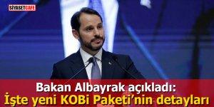 Bakan Albayrak açıkladı: İşte yeni KOBİ Paketi'nin detayları