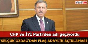 Selçuk Özdağ'dan flaş adaylık açıklaması CHP ve İYİ Parti'den adı geçiyordu