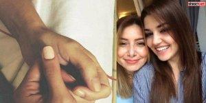 Annesi vefat eden Hande Erçel, hastaneye kaldırıldı