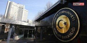 Dışişleri Bakanlığı'ndan kritik Münbiç açıklaması