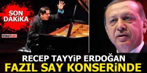 Erdoğan Fazıl Say konserinde