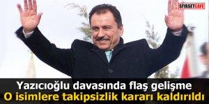 Yazıcıoğlu davasında flaş gelişme: O isimlere takipsizlik kararı kaldırıldı