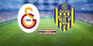 Galatasaray-Ankaragücü maçı kaç kaç bitti?