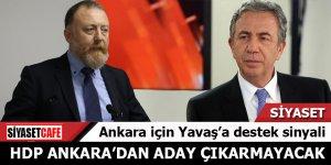 HDP Ankara'dan aday çıkarmayacak