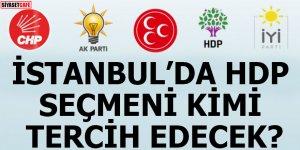 İstanbul'da HDP seçmeni kimi tercih edecek?