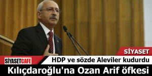 HDP ve sözde Aleviler kudurdu Kılıçdaroğlu'na Ozan Arif öfkesi