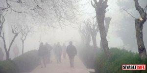 İstanbul'da yoğun sis bugün de etkisini gösteriyor