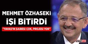 Mehmet Özhaseki işi bitirdi: Yavaş'ın şaibesi çok, projesi yok!
