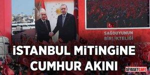 İstanbul mitingine Cumhur akını! İşte Yenikapı'dan görüntüler