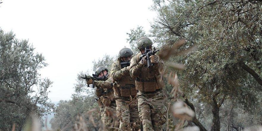 Afrin Merkezden çok sıcak çatışma görüntüleri