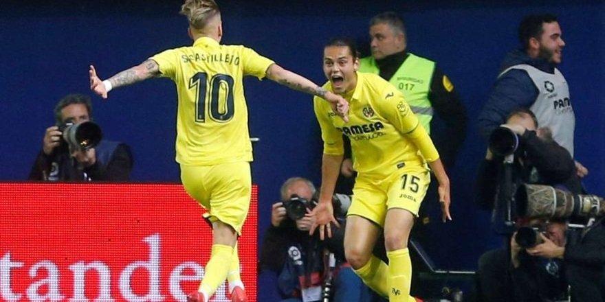 Enes Ünal'dan Atletico Madrid'e harika kafa golü