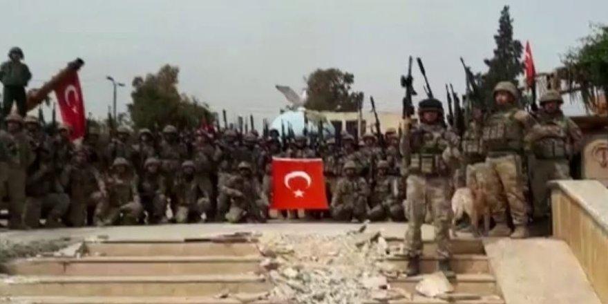 Mehmetçik'ten Afrin'de Komando Yemini