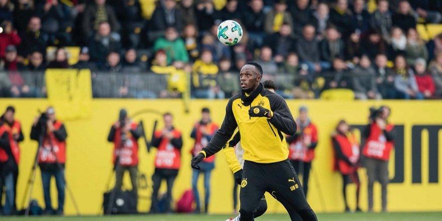 Usain Bolt, Dortmund formasıyla harika bir gol attı