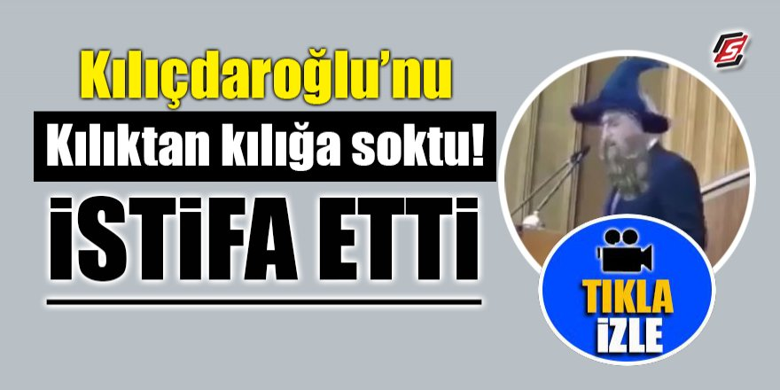 Kılıçdaroğlu'nu kılıktan kılığa soktu! İstifa etti