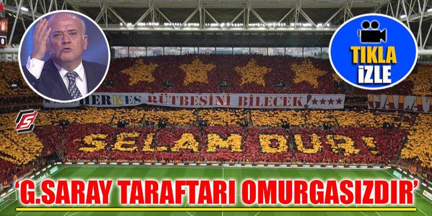 'Galatasaray taraftarı omurgasızdır'