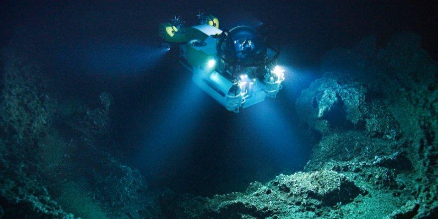 Dünyanın en derin yerinden muhteşem görüntüler