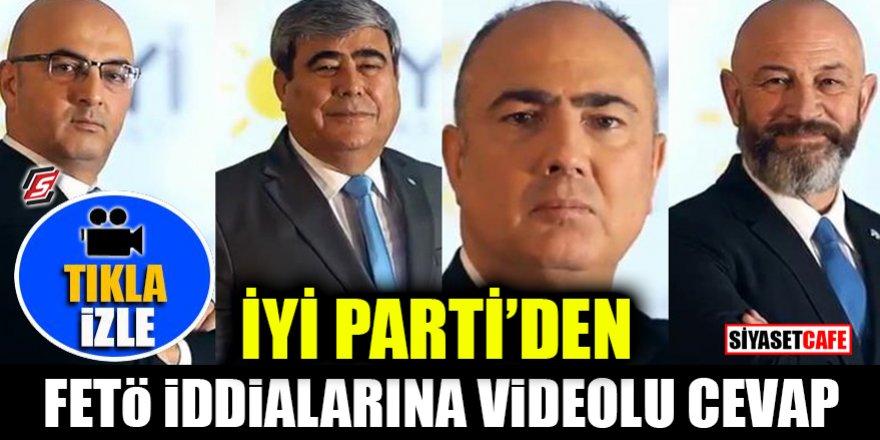 İYİ Parti'den FETÖ iddialarına videolu cevap