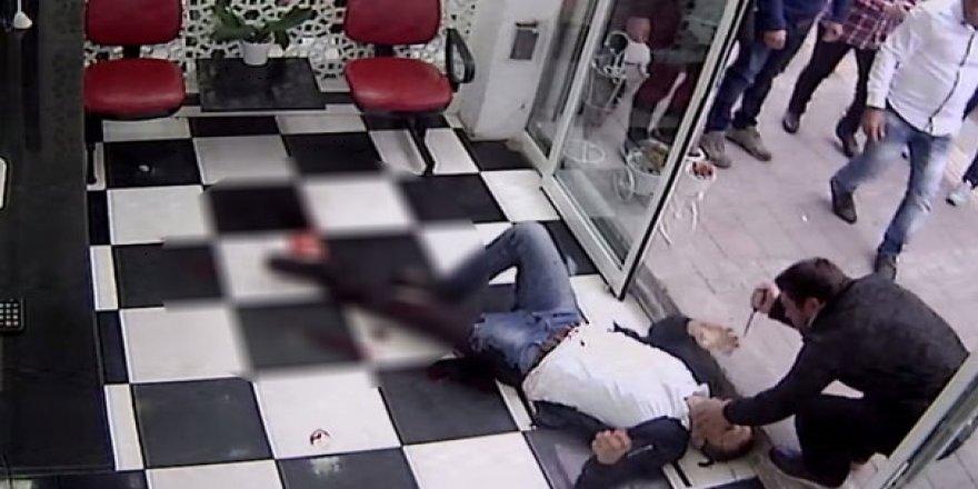 Değnekçi dehşetinin kanlı saldırısı kameralara yansıdı