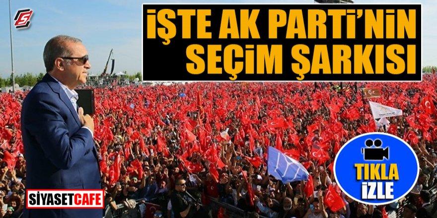 İşte AK Parti'nin seçim müziği
