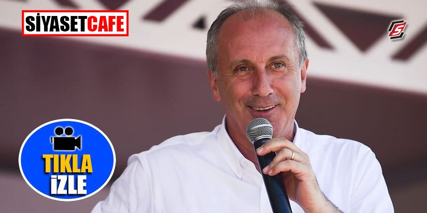 Muharrem İnce'nin seçim klibi yayınlandı