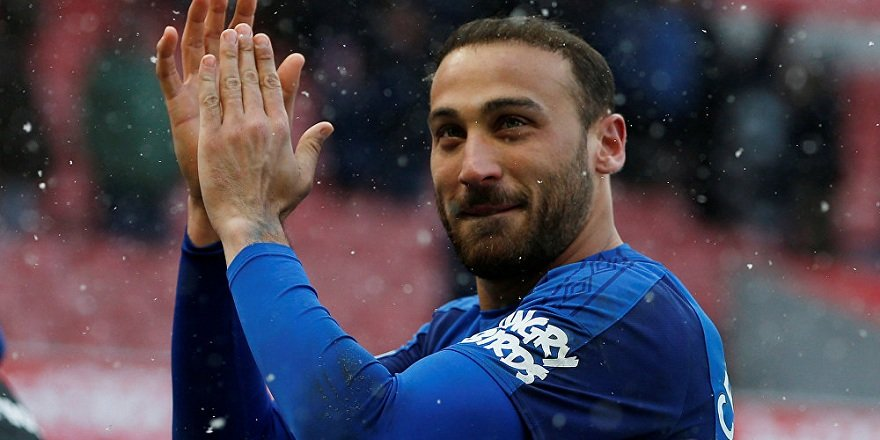 Everton'dan Cenk Tosun'a özel video