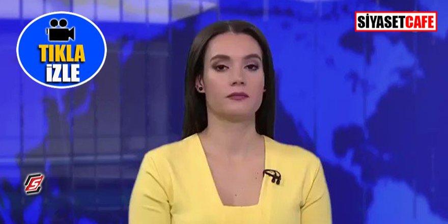 Rus spikerin canlı yayında zor anları