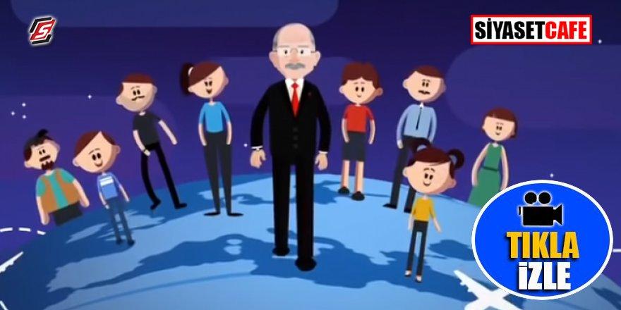 Kılıçdaroğlu'ndan animasyonlu seçim propagandası
