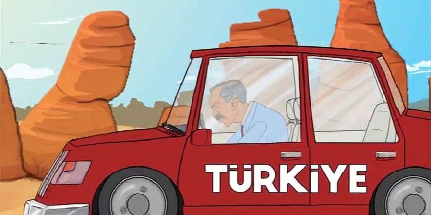Saadet'ten animasyonlu seçim reklamı
