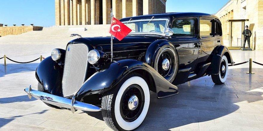 Atatürk'ün makam arabası restore edildi