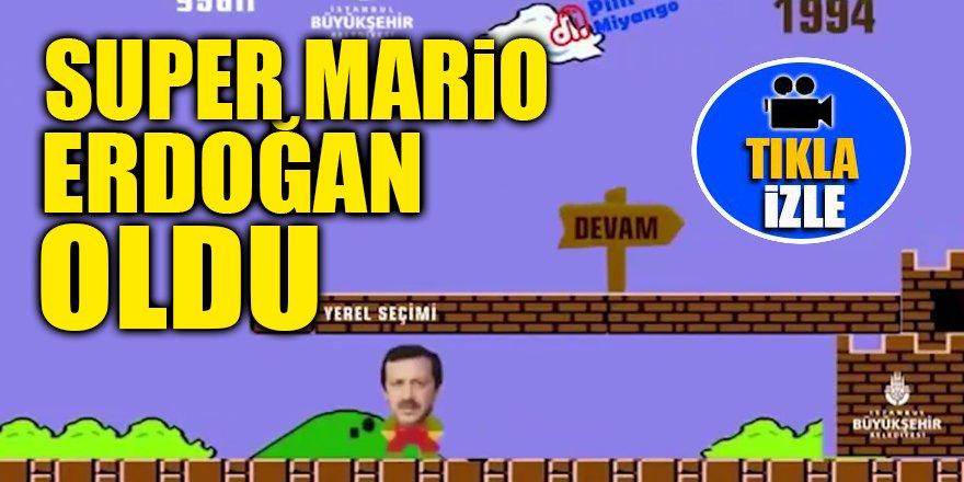 Super Mario Erdoğan oldu