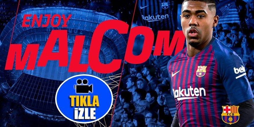 Barcelona Malcom transferini böyle duyurdu!