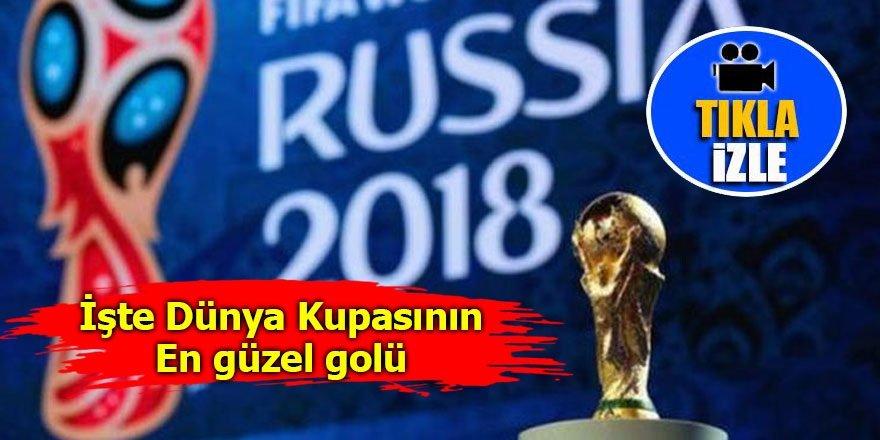 İşte Dünya Kupası'nın en güzel golü!