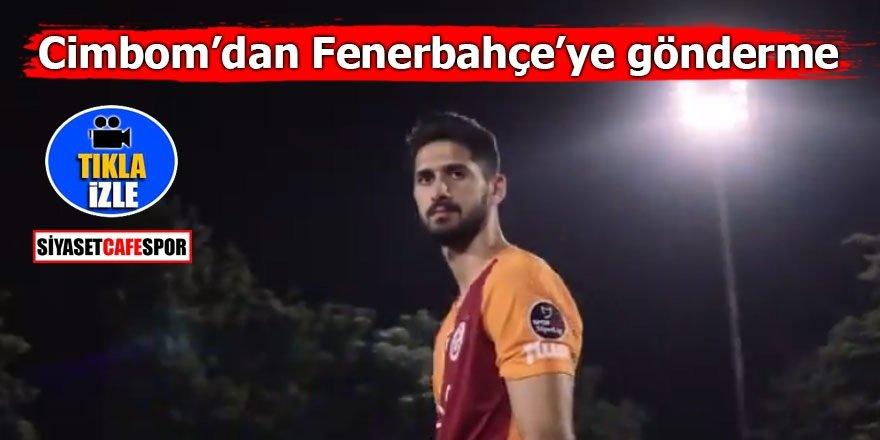 Galatasaray'dan Fenerbahçe'ye gönderme