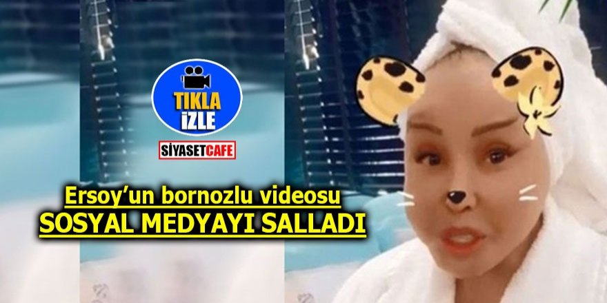 Bülent Ersoy'un bornozlu videosu sosyal medyayı salladı