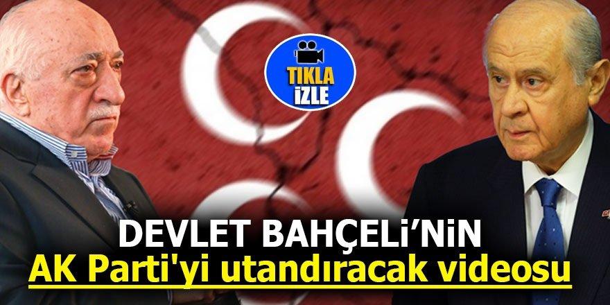Bahçeli'nin AK Parti'yi utandıracak videosu