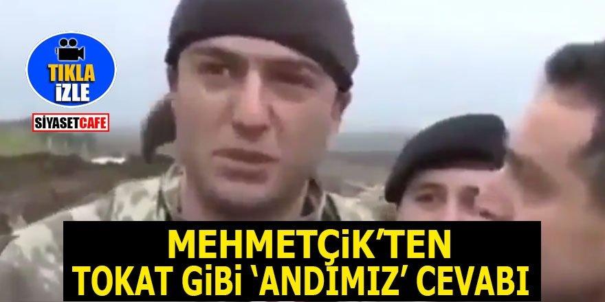 Mehmetçik'ten tokat gibi 'Andımız' cevabı!