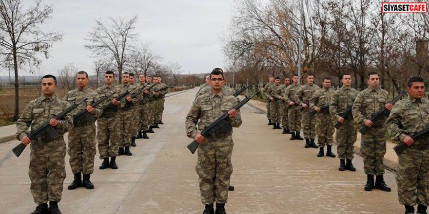 Bedelli askerlerin eğitimleri ilk kez görüntülendi