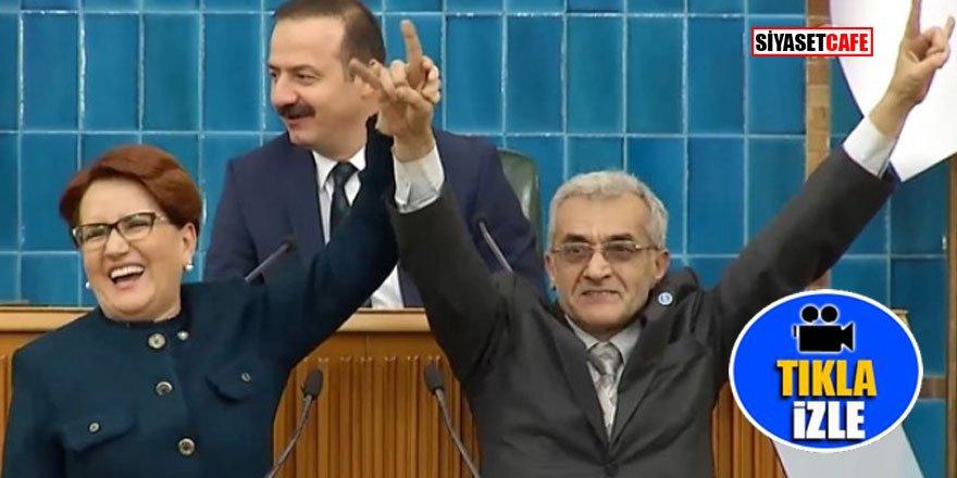 İYİ Partili aday bozkurt işaretini yapamadı sosyal medya yıkıldı