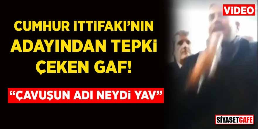 Cumhur İttifakı'nın başkan adayı İbrahim Güler'den tepki çeken gaf