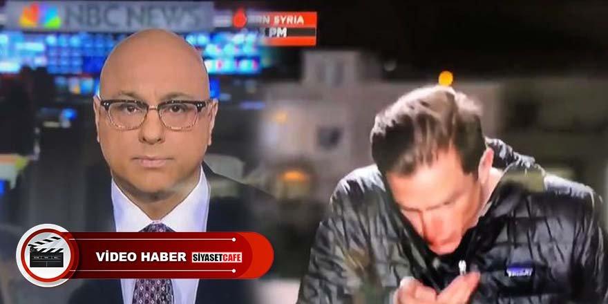 MSNBC kanalı muhabiri fena yakalandı!