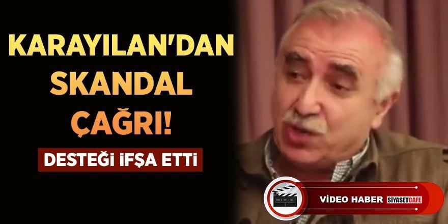 """Murat Karayılan'dan skandal çağrı: """"AKP ve MHP'ye karşı duralım"""""""